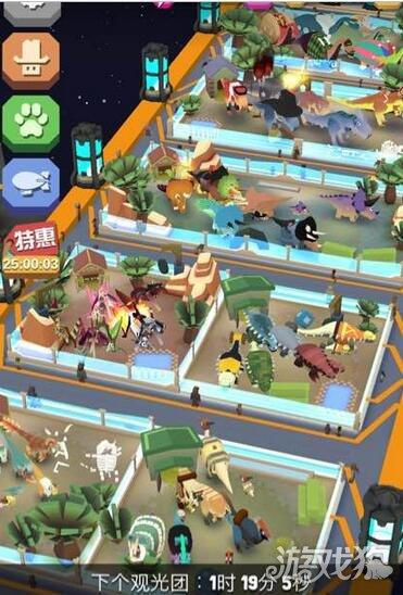 疯狂动物园更新独立侏罗纪地图