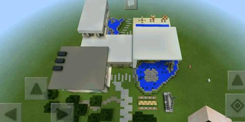我的世界f豪华别墅1期地图存档分享