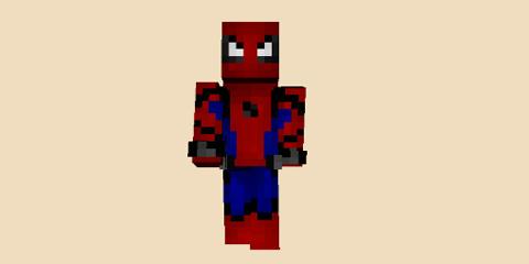 我的世界蜘蛛侠返校季皮肤分享