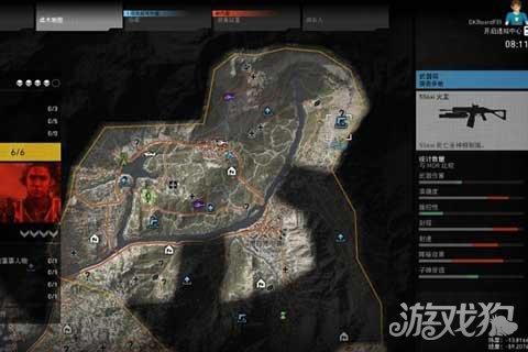 幽灵行动荒野dlc北分区武器装备位置图解