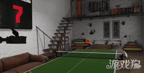 《11:乒乓球VR》体育模拟VR游戏正式来袭跳伞mv钢琴曲图片
