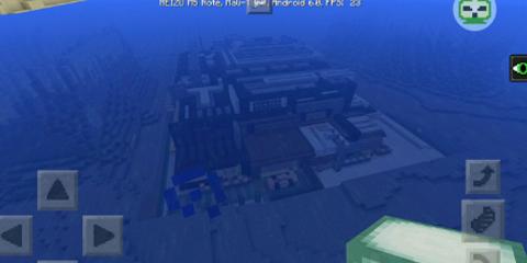 我的世界经典建筑海底别墅地图分享