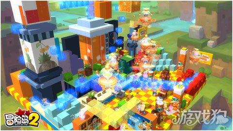 橙意加萌 美年达携手冒险岛2打造岛民专属狂欢节
