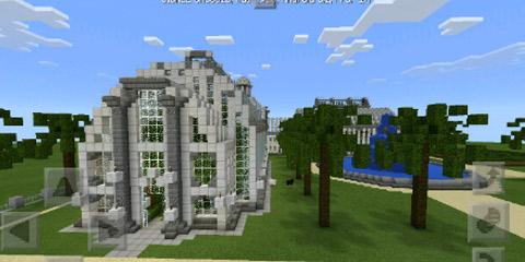 我的世界经典欧式建筑之皇家失落园林分享
