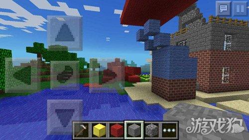 我的世界建筑技巧之建造一个沙滩房
