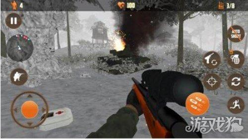 二戰狙擊手召喚第四關炸毀坦克玩法大全