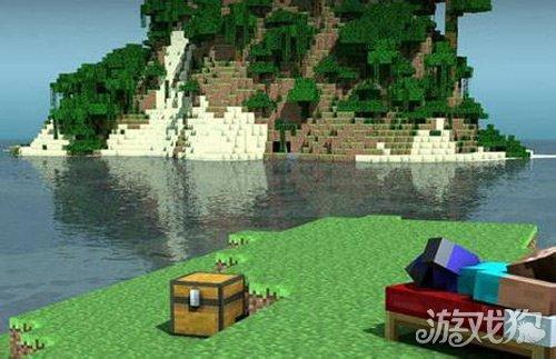 我的世界生存住所打造一个沙滩海景房