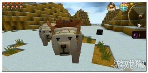 呆萌可爱的迷你世界怎样驯服冰熊简单介绍