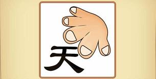 成语手指什么_成语故事简笔画