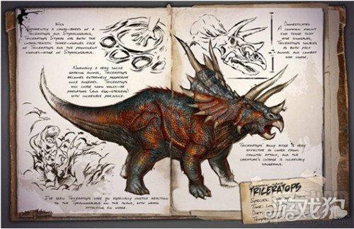 方舟生存进化中新手怎样快速的驯服三角龙