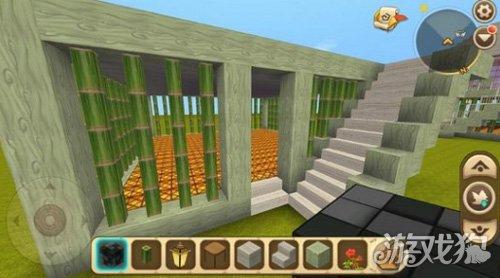再把二楼小房子的顶封起来,下图用的是尖顶,如何喜欢其他样式的