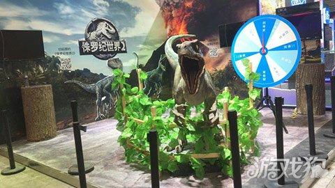 侏罗纪世界2手游亮相咪咕展台大制作引燃期待