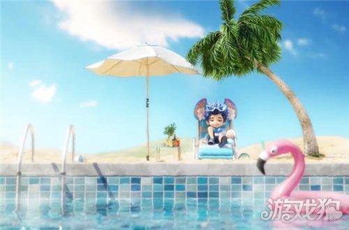泳装公孙离3D模型只能用傻白甜形容 TA就不一样
