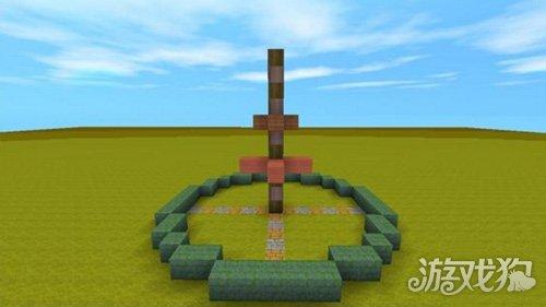 教萌新快速建造迷你世界简易喷泉建筑介绍