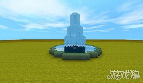 迷你世界 > 正文     第一步,首先在地面上建一个如下图所示的圆形