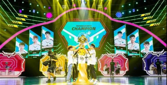 球球大作戰2019塔坦杯新王誕生 CD戰隊奪冠了