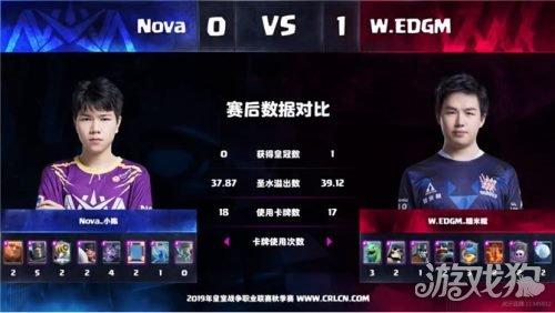 海神降世 CRL秋季赛W.EDGM双杀No