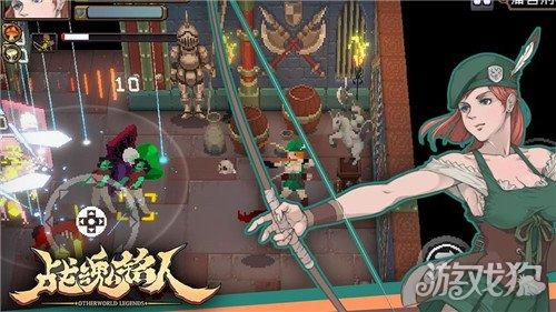 战魂铭人这款游戏玩法是非常有意思,魂铭人艾凯莎连招玩法技巧是什么?